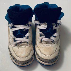 Air Jordan Retro Spizike Blue/Wht Elephant shoes